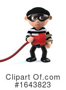 Robber Clipart #1643823 by Steve Young