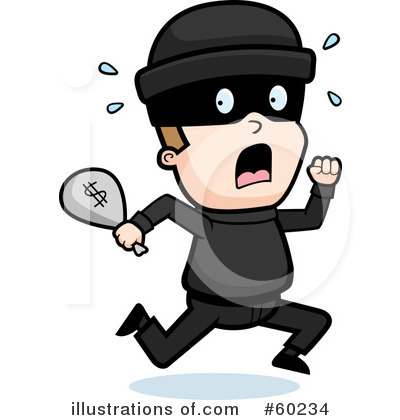 Criminal Clipart #60234 by Cory Thoman