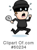 Robber Clipart #60234 by Cory Thoman
