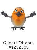 Robin Clipart #1252003 by Julos