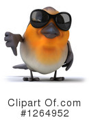 Robin Clipart #1264952 by Julos