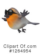 Robin Clipart #1264954 by Julos