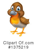 Royalty-Free (RF) Robin Clipart Illustration #1375219