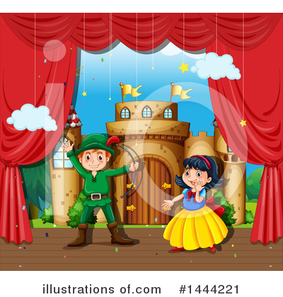 Robin Hood Clipart #1444221 by Graphics RF