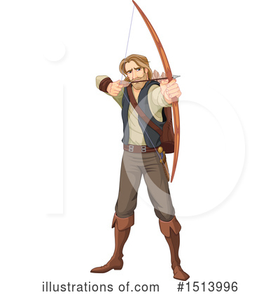Archery Clipart #1513996 by Pushkin
