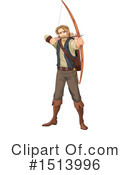 Robin Hood Clipart #1513996 by Pushkin