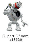 Royalty-Free (RF) robo cam Clipart Illustration #18630