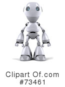 Royalty-Free (RF) Robot Boy Clipart Illustration #73461