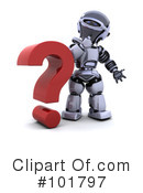 Royalty-Free (RF) Robot Clipart Illustration #101797