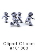 Robot Clipart #101800 by KJ Pargeter
