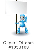 Royalty-Free (RF) Robot Clipart Illustration #1053103