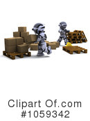 Robot Clipart #1059342 by KJ Pargeter