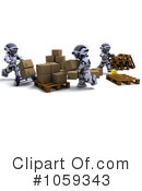 Robot Clipart #1059343 by KJ Pargeter