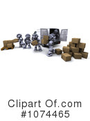 Robot Clipart #1074465 by KJ Pargeter