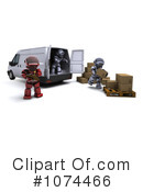 Robot Clipart #1074466 by KJ Pargeter