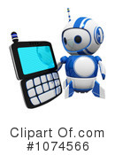Royalty-Free (RF) Robot Clipart Illustration #1074566