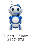 Royalty-Free (RF) Robot Clipart Illustration #1074572