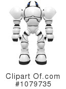 Royalty-Free (RF) Robot Clipart Illustration #1079735