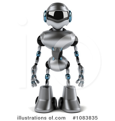Robot Clipart #1083835 by Julos