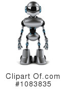 Royalty-Free (RF) Robot Clipart Illustration #1083835