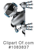 Royalty-Free (RF) Robot Clipart Illustration #1083837