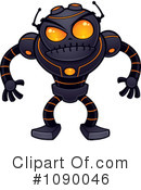 Royalty-Free (RF) Robot Clipart Illustration #1090046