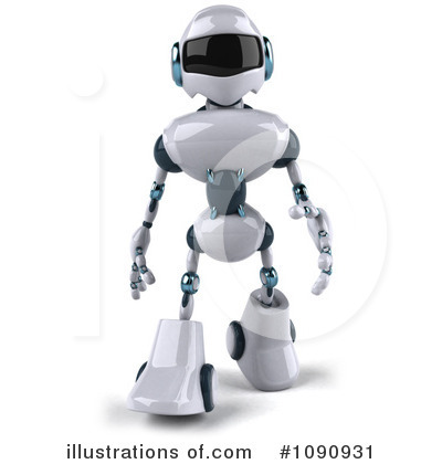 Robot Clipart #1090931 by Julos