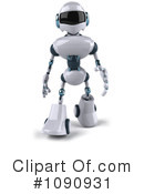 Royalty-Free (RF) Robot Clipart Illustration #1090931