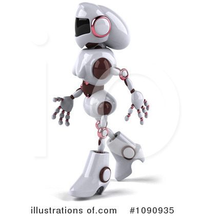 Robot Clipart #1090935 by Julos