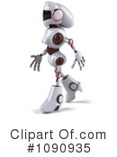 Royalty-Free (RF) Robot Clipart Illustration #1090935