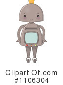 Royalty-Free (RF) Robot Clipart Illustration #1106304