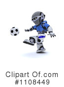 Robot Clipart #1108449 by KJ Pargeter