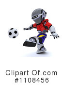 Royalty-Free (RF) robot Clipart Illustration #1108456