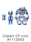 Royalty-Free (RF) Robot Clipart Illustration #1113563