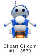 Royalty-Free (RF) Robot Clipart Illustration #1113579