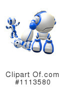 Royalty-Free (RF) Robot Clipart Illustration #1113580