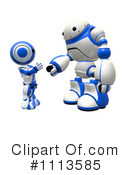 Robot Clipart #1113585 by Leo Blanchette