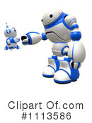 Royalty-Free (RF) Robot Clipart Illustration #1113586