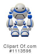 Royalty-Free (RF) Robot Clipart Illustration #1113596