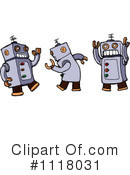 Robot Clipart #1118031 by lineartestpilot