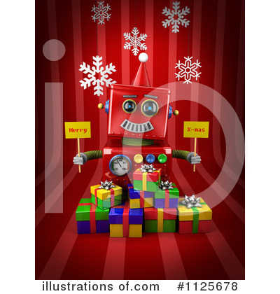 Presents Clipart #1125678 by stockillustrations