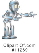 Royalty-Free (RF) Robot Clipart Illustration #11269