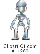 Royalty-Free (RF) Robot Clipart Illustration #11280