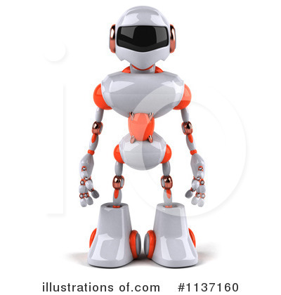 Robot Clipart #1137160 by Julos