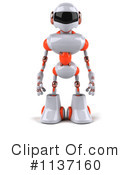 Royalty-Free (RF) Robot Clipart Illustration #1137160