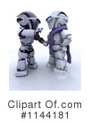 Robot Clipart #1144181 by KJ Pargeter