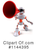 Royalty-Free (RF) Robot Clipart Illustration #1144395
