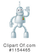 Robot Clipart #1154465 by AtStockIllustration