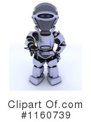 Royalty-Free (RF) Robot Clipart Illustration #1160739