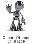Royalty-Free (RF) Robot Clipart Illustration #1161209